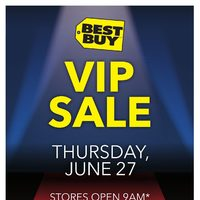 Best Buy - V.I.P. Sale Flyer