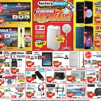Factory Direct - Scorching Hot Deals! Flyer