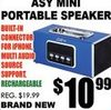 Asy Mini Portable Speaker