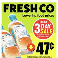 Fresh Co Flyer - Winnipeg, MB - RedFlagDeals com