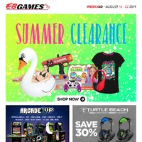EB Games - Weekly - Summer Clearance Flyer