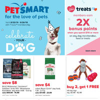 PetSmart - Treats Membership Only - Celebrate Your Dog Flyer