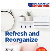 - Home Decor Book - Refresh & Reorganize Flyer