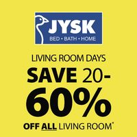 JYSK - Weekly - Living Room Days Flyer