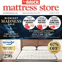 - Mattress Store - The Madness Continues Flyer