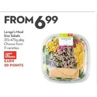 Longo's Meal Size Salads