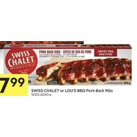 Swiss Chalet Or Lou's BBQ Pork Back Ribs
