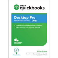 Intuit QuickBooks Desktop Pro 2020 (PC) - 1 User - English