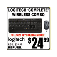 Logitech Complete Wireless Combo
