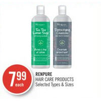 Renpure Hair Care Products