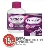 Restoralax Neatpax Travel Size Sachets Or Powder