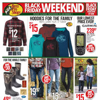 Bass Pro Shops - Black Friday Weekend! Flyer