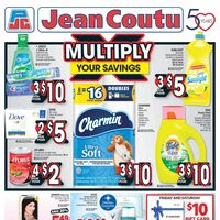 Jean Coutu - Weekly - Multiply Your Savings Flyer