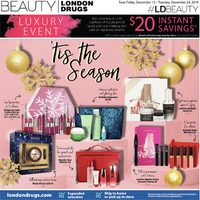 London Drugs - Luxury Event	 Flyer