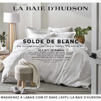 The Bay - Solde de 7 jours - Solde de blanc Flyer