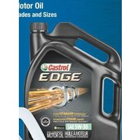 Castrol Synthetic Edge With Fluidtitanium Technology or Extended Performance
