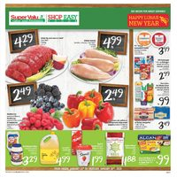 Shop Easy Foods - Weekly - Happy Lunar New Year Flyer