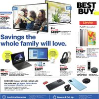 Best Buy - Weekly - Savings The Whole Family Will Love. Flyer