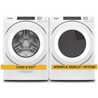Whirlpool 5.2 Cu. Ft. Washer, 7.4 Cu. Ft. Dryer Laundry Pair