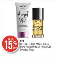 Nyx Setting Spray, Angel Veil Or Honey Dew Makeup Products