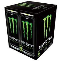 Monster or Rockstar or Red Bull