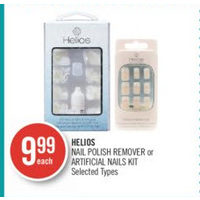 Helios Nail Polish Remover Or Artificial Nails Kit