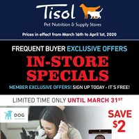 - Tisol - Frequent Buyer Exclusive Offers Flyer