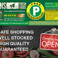 Nations Fresh Foods - Notice Flyer