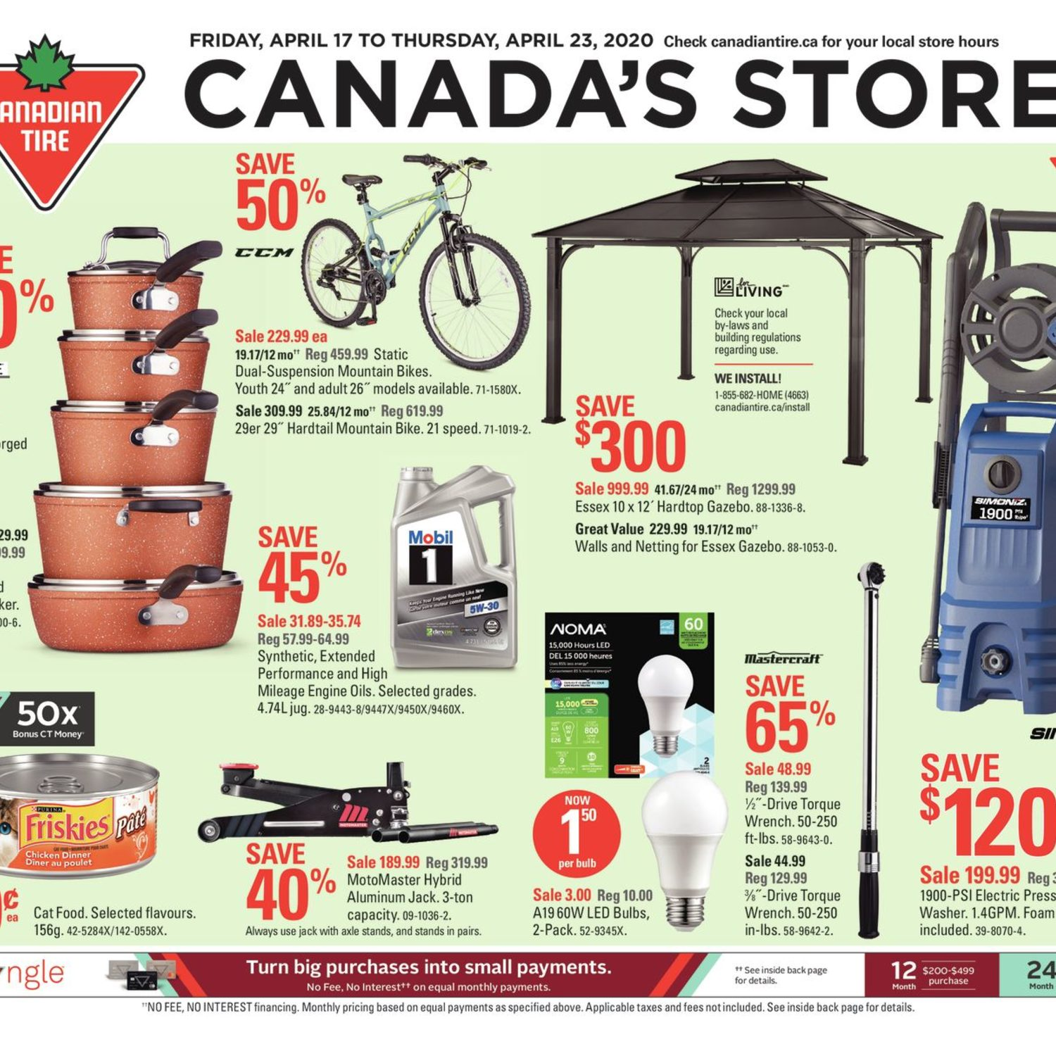 Canadian Tire Weekly Flyer - Weekly