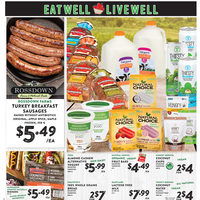 Nesters Market - Eat Well, Live Well Flyer