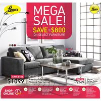 Leon's - Mega Sale! Flyer