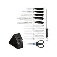 Henckels 14-Pc Forged Generation Knife Block Set