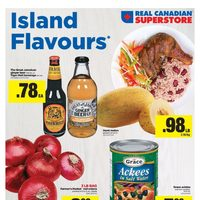 Real Canadian Superstore - World Foods - Island Flavours Flyer