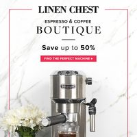 Linen Chest - Espresso & Coffee Boutique Flyer