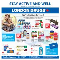 London Drugs - Stay Active And Well Flyer