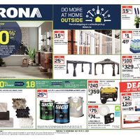Rona - Weekly - Do More At Home Outside Flyer