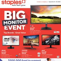 - Weekly - Big Monitor Event Flyer