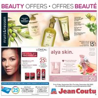 Jean Coutu - Beauty Offers Flyer