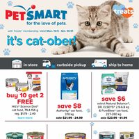 PetSmart - It's Cat-ober! Flyer