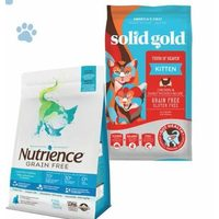 Nutrience & Solid Gold Cat Food