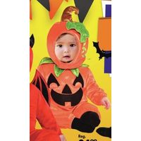 Baby Cute As A Pumpkin Costume 6-12M
