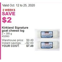 Kirkland Singnature Goat Cheese Log