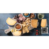 Finica Imported From Holland Beemster Cheese or Collier's Powerful Welsh Cheddar Cheese