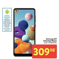 Samsung Galaxy A21 Unlocked Phone