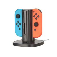 Quad Charger for Nintendo Switch Joy-Con Controllers