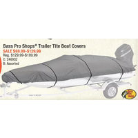 Bass Pro Shops Trailer Tite Boat Covers