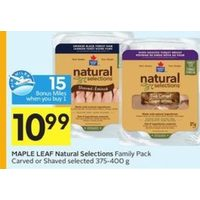 Maple Leaf Natural Selection Family Pack Carved or Shaved