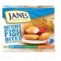 Janes Frozen Battered Fish or Pub Style Fish