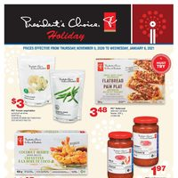 Wholesale Club - President's Choice - Holiday Specials Flyer