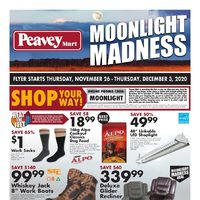 PeaveyMart - Moonlight Madness Flyer
